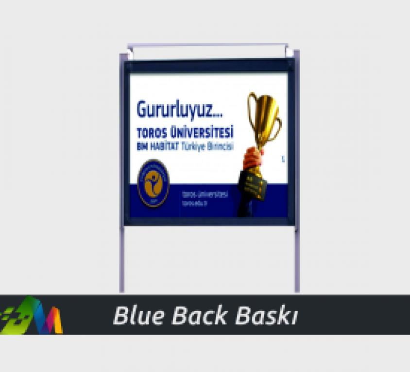 Blueback Baskı