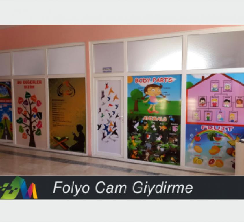 Folyo Cam Giydirme