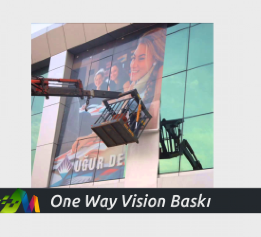 One Way Vision Baskı