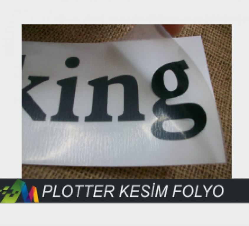 PLOTTER KESİM FOLYO